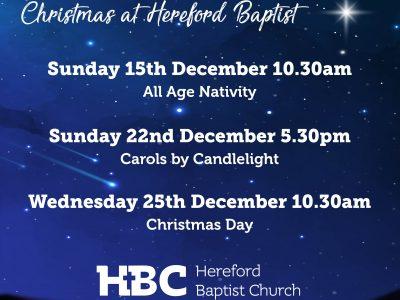 Hereford Baptist Church Spirit Ministry Mission
